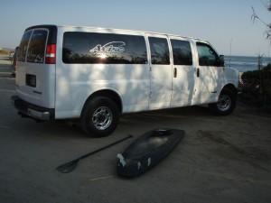 The Aviso Van representing!