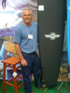 Steve Walden with his Aviso Magic Model!