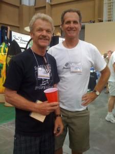 Aviso designers Gary Linden and Tim Bessell