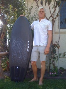 Christian with the new 5`2 Aviso!