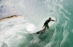 Who said you cant get barreled out of your mind in Florida?