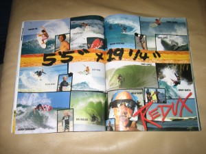 5`5 Redux ad in the new Surfer