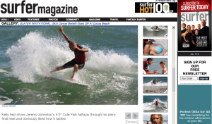 Slater photos on surfermag.com