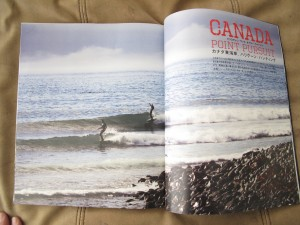 Canada!  Thats Christian out the back on his 9`7 AVISO