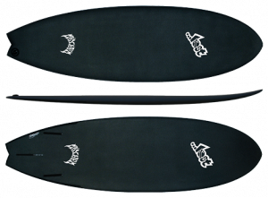 The Original AVISO RNF set up with three fins.  This model is available in 5`5, 5`6, 5`8, 5`10, and 6`0.