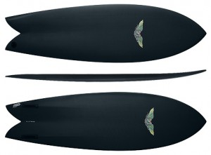 The 5`9 DVS AVISO Hydrohull...My personal favorite of the DVS boards