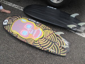 How sick is that painting CWach did on his 5`0!