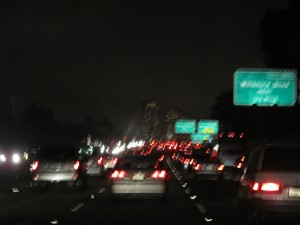Grueling through LA on the way back...