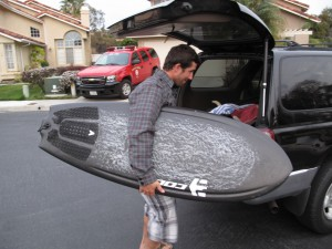 SC Local Josh Kirk with the 5`2 COLE/AVISO BD3. Josh hoped on the board the last few days and loved it! I could not believe fast he was going on it!!