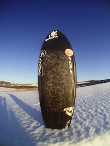 Sunshine or snow, all you need is your 5`0 AVISO!