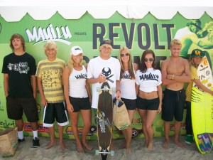 Even the groms came down at put on a show!