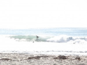 BEach breaks going off...
