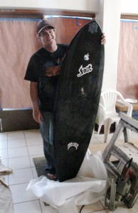 Pat from IB with his Aviso RNF. Pat also has a 5`9 Aviso New Toy that he has been ripping. Smart man, those are two of my favorite models!