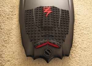 My new 5`9 Aviso Fireblade with Z-pad from NakiSurf