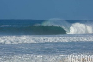 Back in Hawaii... 17 feet @ 17 seconds!
