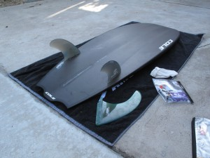 Also you can pull out the single fin and go twin for a a whole new sensation!