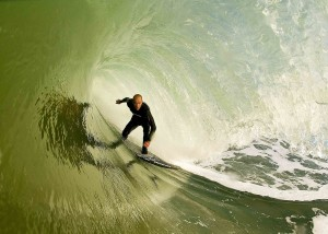 Ian in France today on his 5`11 Doc Aviso... Damn I wanna go surf some French beachbreaks!