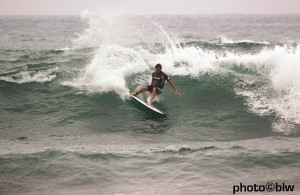 Perko on his 5`19 Cole at Lowers.